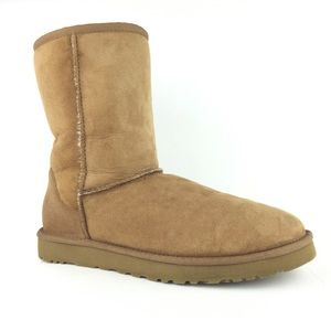 UGG classic short original chestnut boot size 10